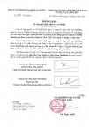 Thông báo giới thiệu chức vụ và chữ ký ông Văn Ngọc Nghĩa, Ông Phạm Thế Hanh (1)