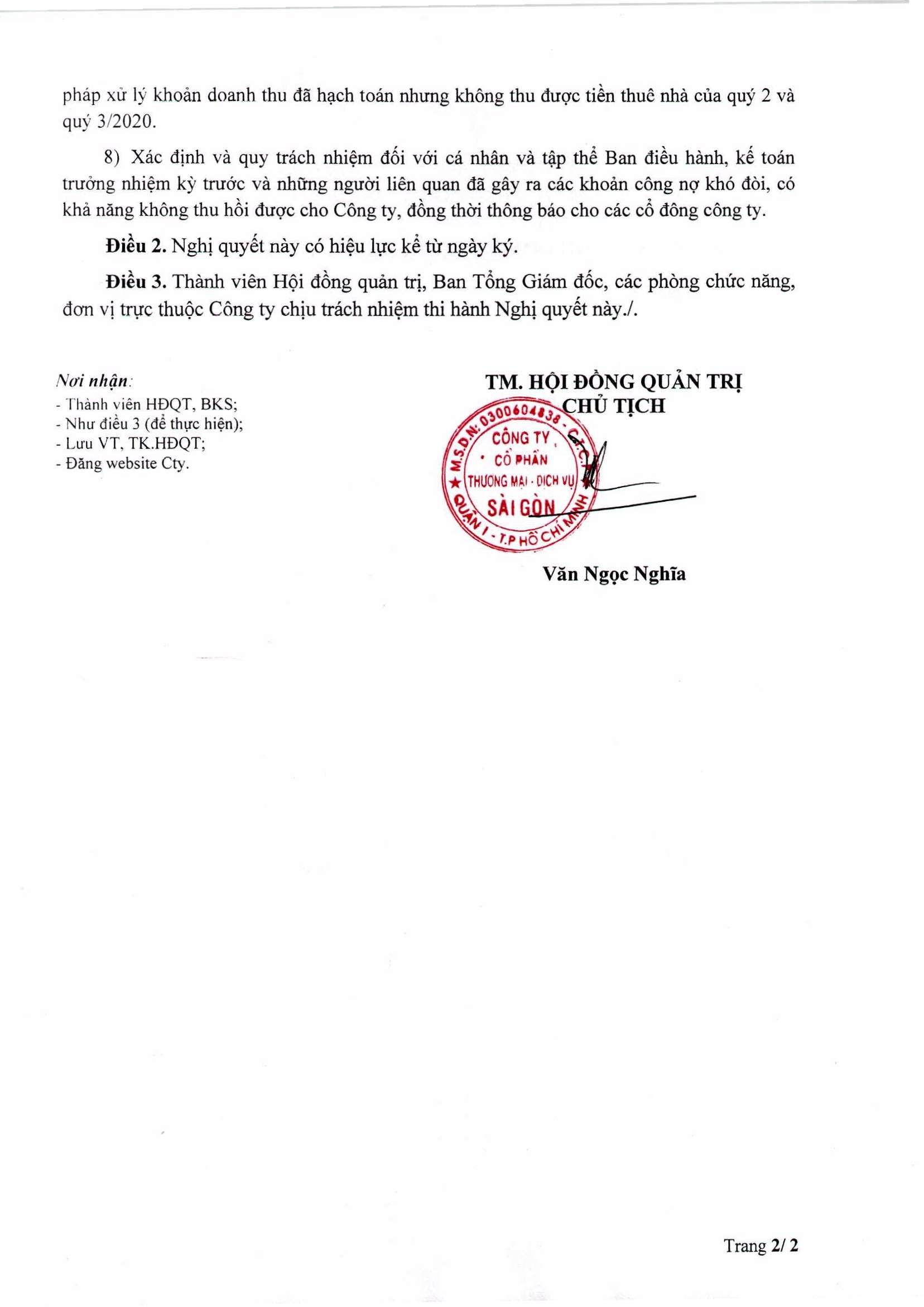 Nghị quyết 199-NQ-HĐQT ngày 18-9-2020 (02)