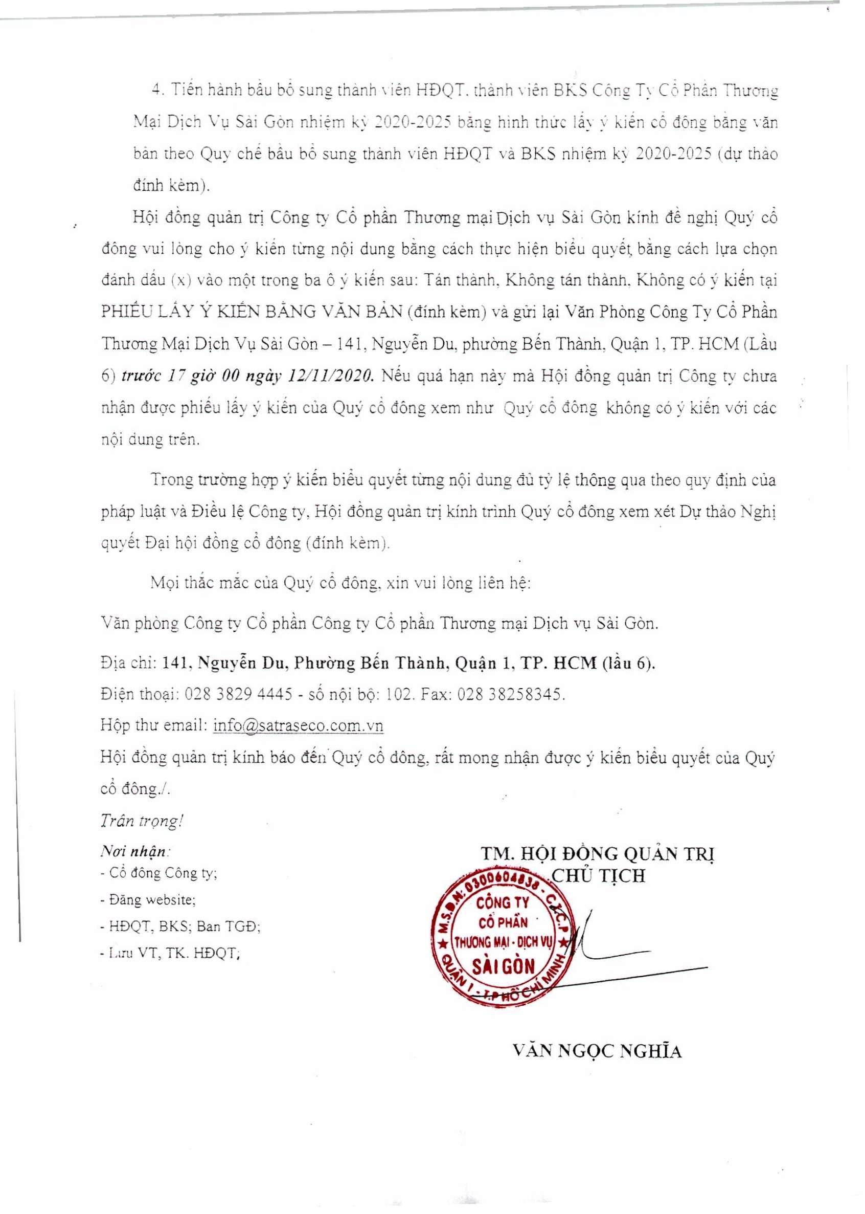 Thông báo 251-TB-HĐQT ngày 29-10-2020 (02)